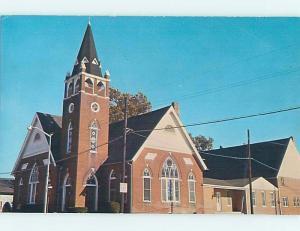 Unused Pre-1980 CHURCH SCENE Seaford Delaware DE p3790@