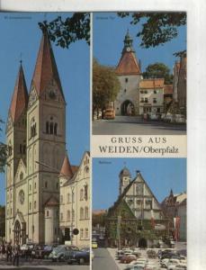 Postal:: Alemania: Weiden