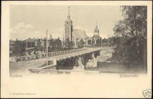 finland, NYKARLEBY UUSIKAARLEPYY, Kyrkan (ca. 1899)