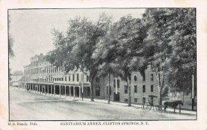 Sanitarium Annex, Clifton Springs, New York, Postcard, Unused
