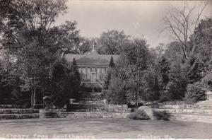 RP, CAMDEN, Massachusetts, 1920s-40s; Library from Ampitheatre