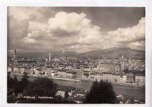 FIRENZE, PANORAMA, unused real photo, vera fotografia Postcard
