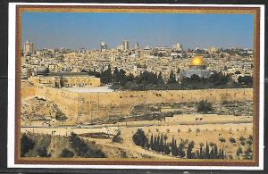 Israel, Jerusalem, View of Old City, unused