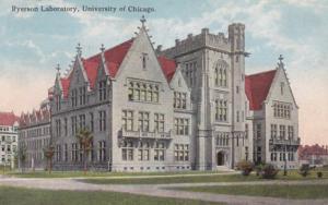 Illinois Chicago Ryerson Laboratory University Of Chicago 1915