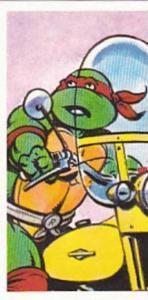 Brooke Bond Tea Trade Card Teenage Mutant Hero Turtles 1990 No 8 Raphael