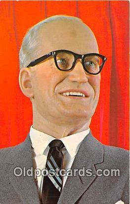 Barry M Goldwater, American Heritage Wax Museum Scottsdale, Arizona Political...