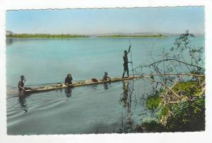 RP  Congo Belge, Pirogue sur le Fleuve, 20-40s