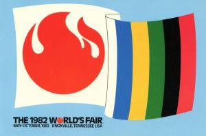 TN - Knoxville, 1982. The 1982 World's Fair, Banner