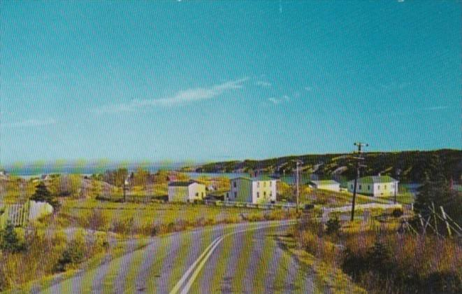 Canada Panoramic View From #3 Highway Of Harbour Main Newfounfland