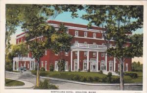 Maine Houlton The Northland Hotel Curteich