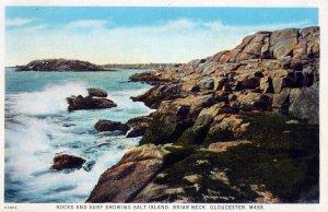 [ CommercialChrome ] US Massachusetts Gloucester - Rocks And Surf Briar Neck