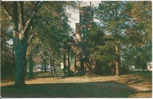 Talbotton Georgia Zion Episcopal Church Vintage Postcard