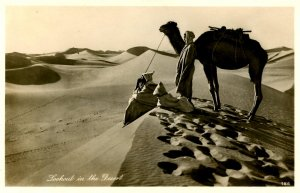 Egypt - Lookout in the Desert    *RPPC