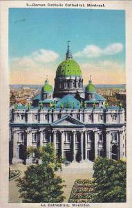 Roman Catholic Cathedral, Montreal, Quebec, Canada, 1930-1940s