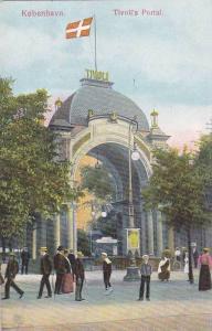 Kobenhavn. Tivoli's Portal, Denmark , 1910s
