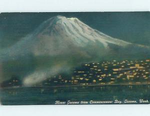 Divided-Back RUSTIC SCENE Tacoma Washington WA hk3952