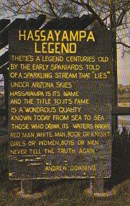 Legend Of The Hassayampa Memorial Wickenburg Arizona