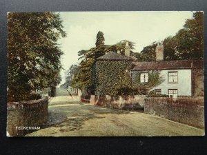 Worcestershire Redditch FECKENHAM Salt Way - Old Postcard by R.A.P. Co. Ltd