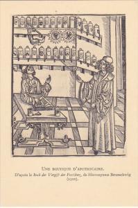 Une Boutique D'Apothicaire Rabelais Bibliotheque National