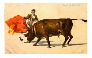 Bullfighting - Crutch Pass
