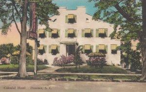 FLORENCE, South Carolina, 1900-10s; Colonial Hotel