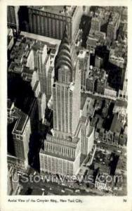 Chrysler Bldg New York City NY 1945