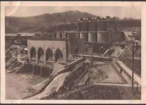 115604 USSR ZEMO-AVCHALSKAYA Hydroelectricity CONSTRUCTIVISM