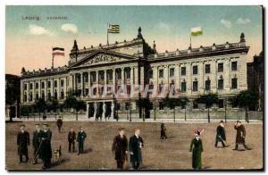 Old Postcard Leipzig Univeersitat