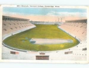 Linen HARVARD COLLEGE FOOTBALL STADIUM Cambridge - Boston Massachusetts MA E1918