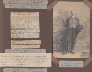 Benjamin Barnes Prevost in Meadow Street Reading Theatre Play Antique Postcard