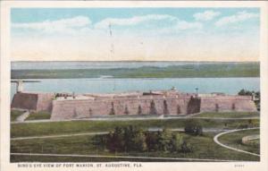 Florida St Augustine Birds Eye View Of Fort Marion Curteich