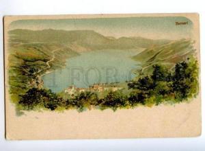 173420 CROATIA BUCCARI Bakar Vintage litograph postcard