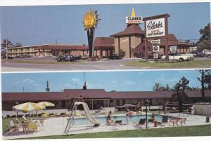 2-Views, Quality Inn Clark's And Restaurant, Swimming Pool, On U. S. 301, SAN...