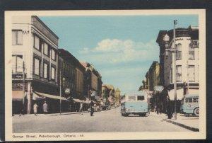 Canada Postcard - George Street, Peterborough, Ontario   RS16357