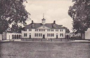 Virginia Mt Vernon Home Of George Washington The West Front-Albertype