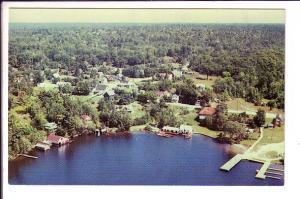 Aerial, Rosseau, Ontario,