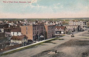 MOOSOMIN , Sask. , Canada , 1900-10s ; Front Street