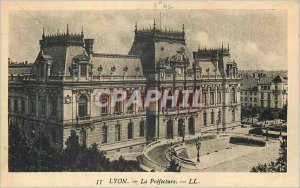 Old Postcard Lyon Prefecture