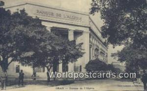 Oran Algeria, Africa, Banque de I'Algerie  Banque de I'Algerie