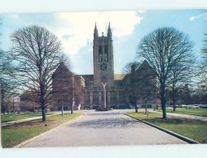 Unused Pre-1980 GASSON HALL AT BOSTON COLLEGE Newton Massachusetts MA L8509