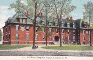 CHARLOTTE , North Carolina , 1910s ; Elizabeth College for women