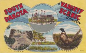 South Dakota A Varoety Scenic Wonder With Mount Rushmore & More Curteich