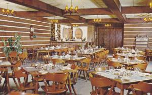 Interior View, Hotel La Sapiniere, Val David, Quebec, Canada, 40-60´s