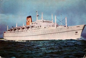 Canadian Pacific Liner Empress Of Canada 1964