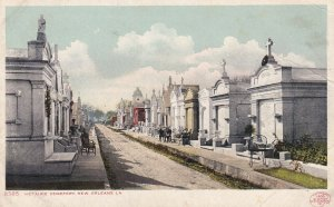 NEW ORLEANS, Louisiana, 1900-1910's; Metairie Cemetery