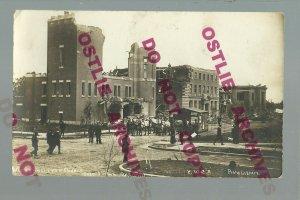 Saskatoon SK CANADA RPPC 1912 FIRE RUINS Disaster METROPOLITAN CHURCH Y.W.C.A.