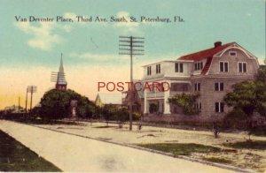 VAN DEVENTER PLACE, THIRD AVENUE SOUTH, ST. PETERSBURG, FLA.