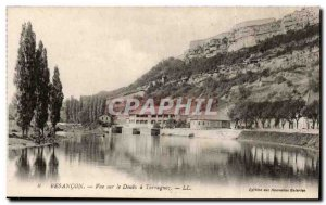 Besancon Old Postcard View Doubs Tarragnoz