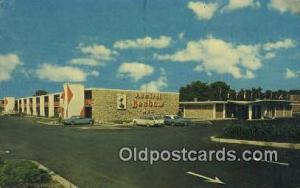 Admiral Benbow Inn, Monroe, LA, USA Motel Hotel Postcard Post Card Old Vintag...