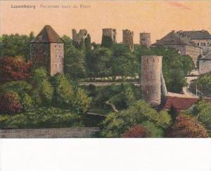 Luxemburg Anciennes tours du Rham